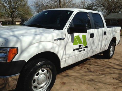 AJ's Garage Door Service of Tucson New Work Truck