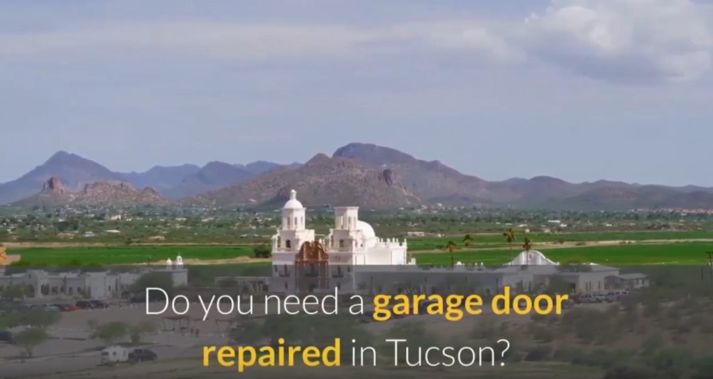 garage door repair Tucson